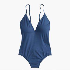 J. Crew Swim - J.Crew Playa Montauk cross back one piece swimsuit